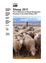 US sheep report cover 1